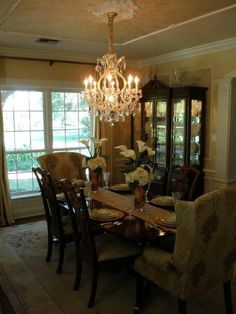 New Orleans Southern Elegance Dining Room