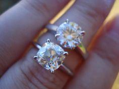 62 Best Cushion Cut Diamond Rings Images On Pinterest Estate