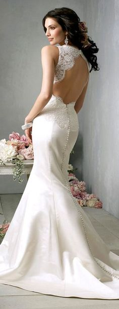 Elegant Wedding Dress #weddingdress