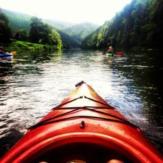 Paddling Pine Creek (Pennsylvania, USA). Image by Alison Strickler. #beautifulworld http://www.lonelyplanet.com/photocomp?lpaffil=soc_pi_p_o_bw