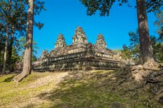 Ta Keo is a very famous sandstone temple and one of the oldest of Angkor Wat. Angkor Wat, Cambodia, Monument Valley, Old Things, Explore, Adventure, Temples, World, Travel