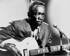 John Lee Hooker | Worked as a sharecropper, picked up the guitar as a young man, heavily influenced by bluesmen — Fred MacDowell, John Lee Hooker, Buddy Guy, and Muddy Waters (who was married to his first cousin). Description from selvedgeyard.com. I searched for this on bing.com/images