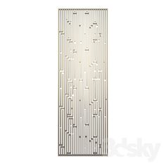 Decorative panel grille