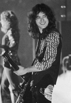 Jimmy Page .... <3 that smile!!! #classicrock #forthosewholiketorock