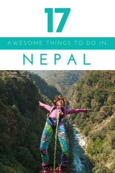 My round up of the best things to do in Nepal – that AREN'T trekking! From extreme sports to awesome food, this is everything you need to do in #Nepal