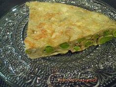 mandarinas y miel : Tortilla de habas o tortilla de faves tendres
