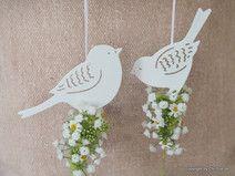 Fensterdeko Vogel Frühling