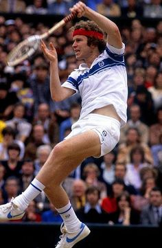 John McEnroe - United States - All-Time No. in Men's Tennis Tennis Techniques, Tennis Rules, How To Play Tennis, Tennis Photos, Jimmy Connors, Tennis Legends, Wimbledon Tennis, Tennis World, Vintage Tennis