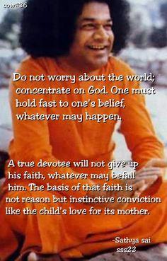 Like the love of a child. Sai Baba Quotes, Sathya Sai Baba, Om Sai Ram, Spiritual Teachers, Bhagavad Gita, Prayer Board, Child Love, My Lord, Good Morning Quotes