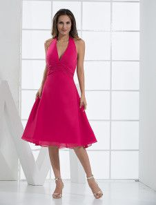 Fuchsia Deep V-neck Chiffon Prom Dress. Get surprising discounts up to 70% Off at Milanoo using Coupon & Promo Codes.