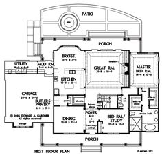 house plans without formal dining room - google search | homes