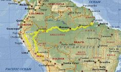 Rio Amazonas Map O rio amazonas