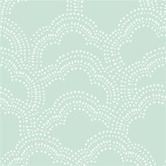 Homestead  Clouds Mint  Emily Isabella  Birch by SewStitchingHappy