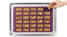 Customized, perfectly portioned bliss bars are ideal for lunch boxes, quick bites, and desserts. Easy Lunch Boxes, Lunch Box Recipes, Quick Dinner Recipes, Lunch Snacks, Whole Food Recipes, Lunches, Bliss Bar, Perfect Portions, Epicure Recipes