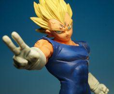 Dragon Ball Z S.S. Vegeta Fighting Combination DXF Figure Banpresto JAPAN ANIME