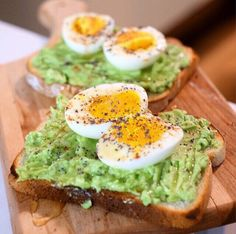 "beautifulcuisines: ""Credits: @hungrynyc  Tag your best food photos with #beautifulcuisines Homemade avocado toast with soft boiled egg drizzled with honey and poppy seeds."""