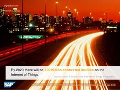 By 2020 there will be 200 billion connected devices on the Internet of Things