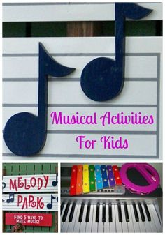 5 Tips for integrating music into your child& day plus great musical activities for kids! 5 Tips for integrating music into your childs day plus great musical activities for kids! Music Activities For Kids, Music Lessons For Kids, Preschool Music, Music For Kids, Preschool Activities, Daily Activities, Preschool Kindergarten, Music Therapy Activities, Fun Music