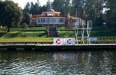 Centralny Ośrodek Sportu w Giżycku. COS Giżycko nad jeziorem Kisajno.    #Giżycko #COS