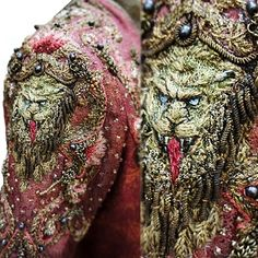"Michele Carragher, hand embroidery artist | Close-Ups Of ""Game Of Thrones"" costumes sewn by her"