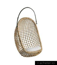 ampm fauteuil fauteuil rotin fauteuil suspendu interieur ampm deco chaise suspendue - Fauteuil A Suspendre