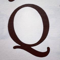 Letter of the day! #q #typography #glyphosaurus  (Taken with instagram)