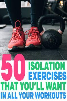 back isolation exercises