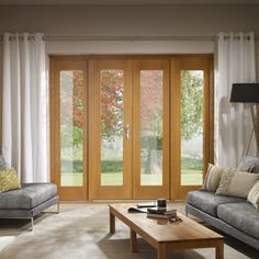 patio doors with sidelights   ... Oak French Patio Doorset with Sidelight Frame Kit   Leader Doors