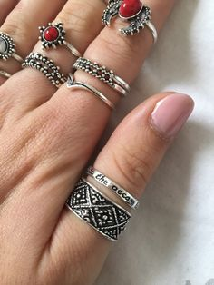 Moment, Silver Rings, Photos, Jewelry, Trends, Jewlery, Bijoux, Schmuck, Jewerly