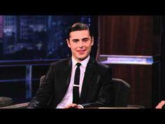 Zac Efron on Jimmy Kimmel Live PART 1 ~ April 16, 2012