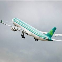 Aer Lingus A330 out of Ireland. I've seen this bad boy at LAX.