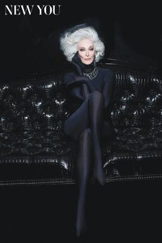~Carmen Dell'Orefice~ 82 years old and still work in' it. <3