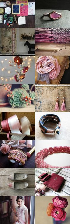 Hot Pink  by Irit on Etsy--Pinned with TreasuryPin.com