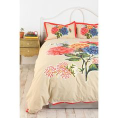 Love this duvet. #oilcloth #bedding