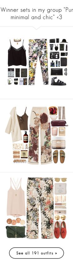 """""""3 Winner sets in my group """"Pure, minimal and chic"""" <3"""" by juuliap ❤ liked on Polyvore featuring Topshop, MANGO, Illesteva, Dr. Martens, Valentino, Nest, Nest Fragrances, Sourpuss, Royce Leather and Cassia"""