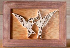Touchons du bois, ça porte bonheur: Little birds