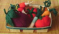 Avec de la laine: Légumes du marché