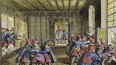 Kupferstich Prager Fenstersturz, 23. Mai 1618