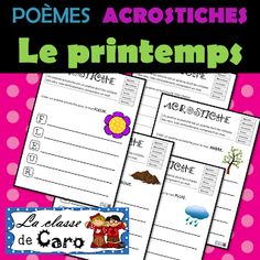 La classe de Caro Core French, French Class, French Teacher, Teaching French, Teacher Helper, Second Language, France, Learn French, Bullet Journal