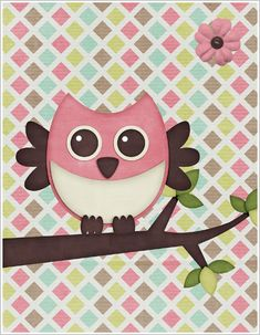 Free Owl Printables and Patterns for Fall Scrapbooking