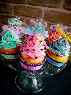 Confetti Faux Cupcakes 01 by ~CreativeAbubot on deviantART