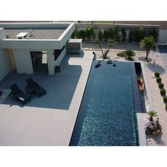 carrelage piscine noire elena personnalisé