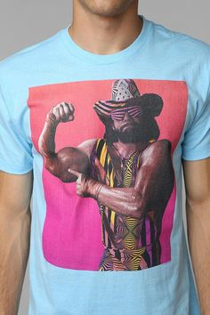 Macho Man Tee #urbanoutfitters....I need this shirt in my life
