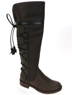 XoXo Women's Selby Tall Cold Weather Boots Brown Size 7 M #XoXo #SnowWinterBoots #ColdWeather