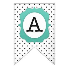 Free Printable: polka dot banner set - The Cottage Market