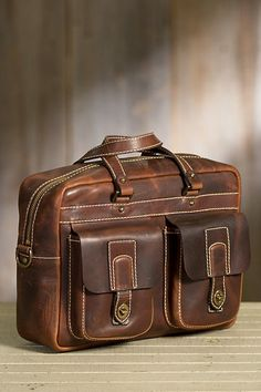 Coronado Americana CEO Leather Briefcase with Concealed Carry Pocket Mens Leather Laptop Bag, Leather Suitcase, Leather Briefcase, Leather Men, Sac Week End, Tote Backpack, Messenger Bags, Duffel Bag, Leather Handbags