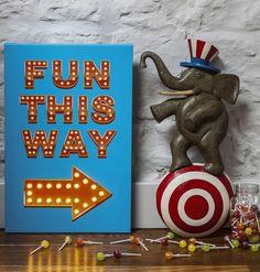 Fun This Way Canvas £34