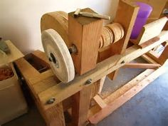 Image result for treadle lathe plans