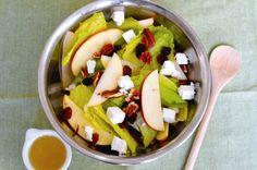 Recetas vegetales - ensalada Vegetarian Recipes, Cooking Recipes, Healthy Recipes, Fruit Salad, Cobb Salad, Beef Stew With Beer, Sin Gluten, Food And Drink, Healthy Eating