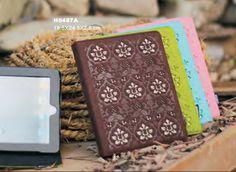 Ipad case, blown, green, light blue, pink color, felt eco-friendly, 2087 brand